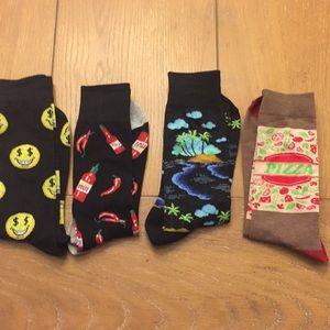 Other - Excellent condition 4 Pair Men's Dress Socks
